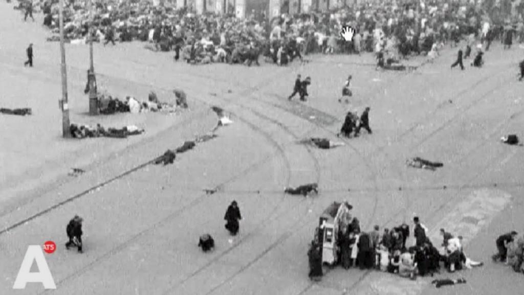 Monument voor slachtoffers Dam 7 mei 1945