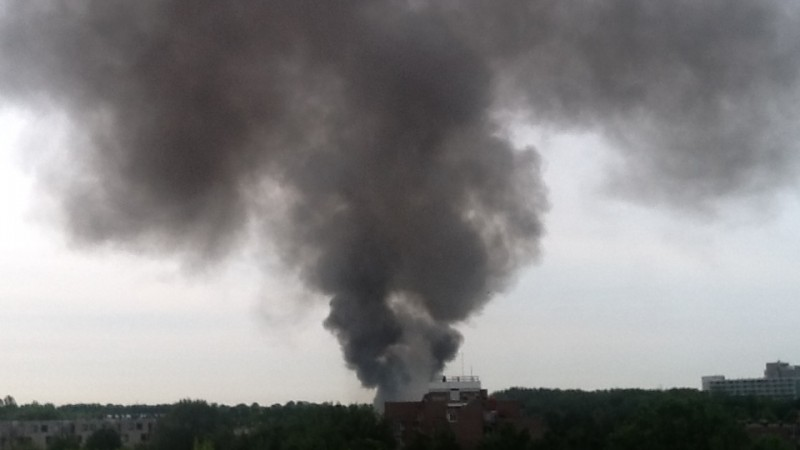brand in amsterdam zuidoost
