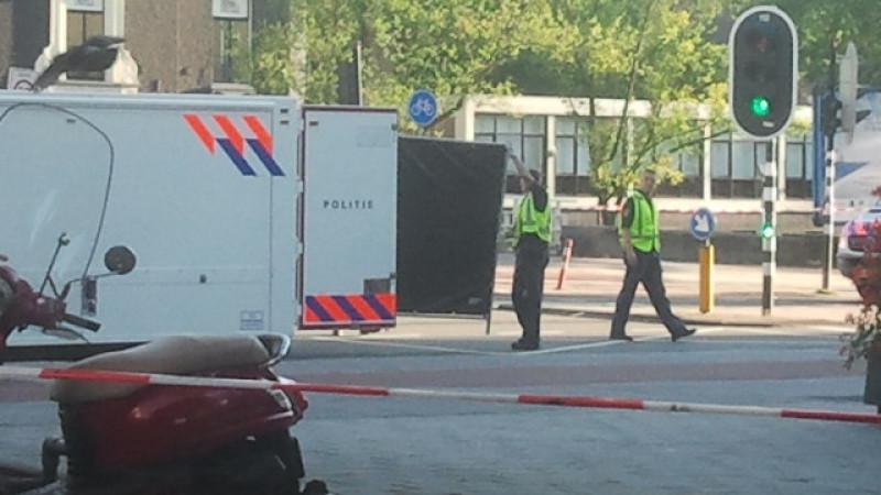 Fietser overleden na aanrijding Stadhouderskade