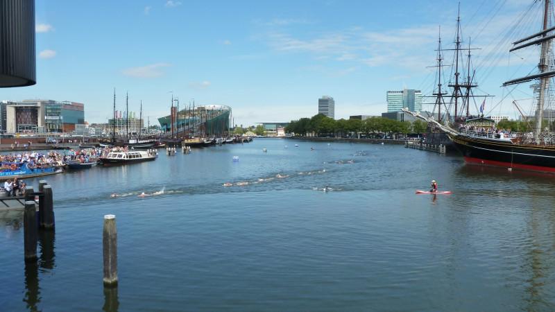 De city swim is gestart!