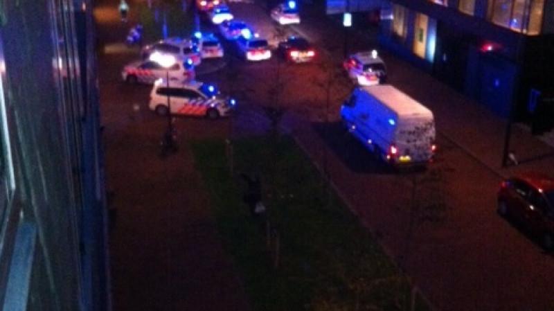 Vanmorgen om 07:30 uur werden wij gewekt door de arrestatie bij het Martien Schaaperhuis.