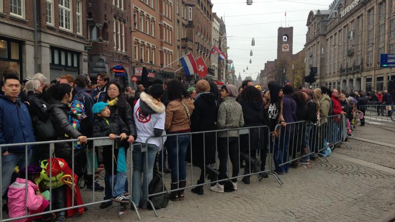 Opstootje bij demonstratie op de Dam