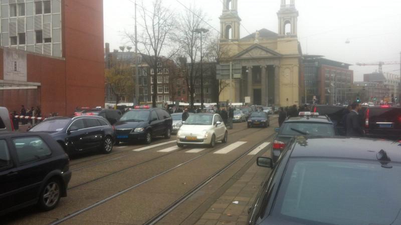 Taxi demonstratie