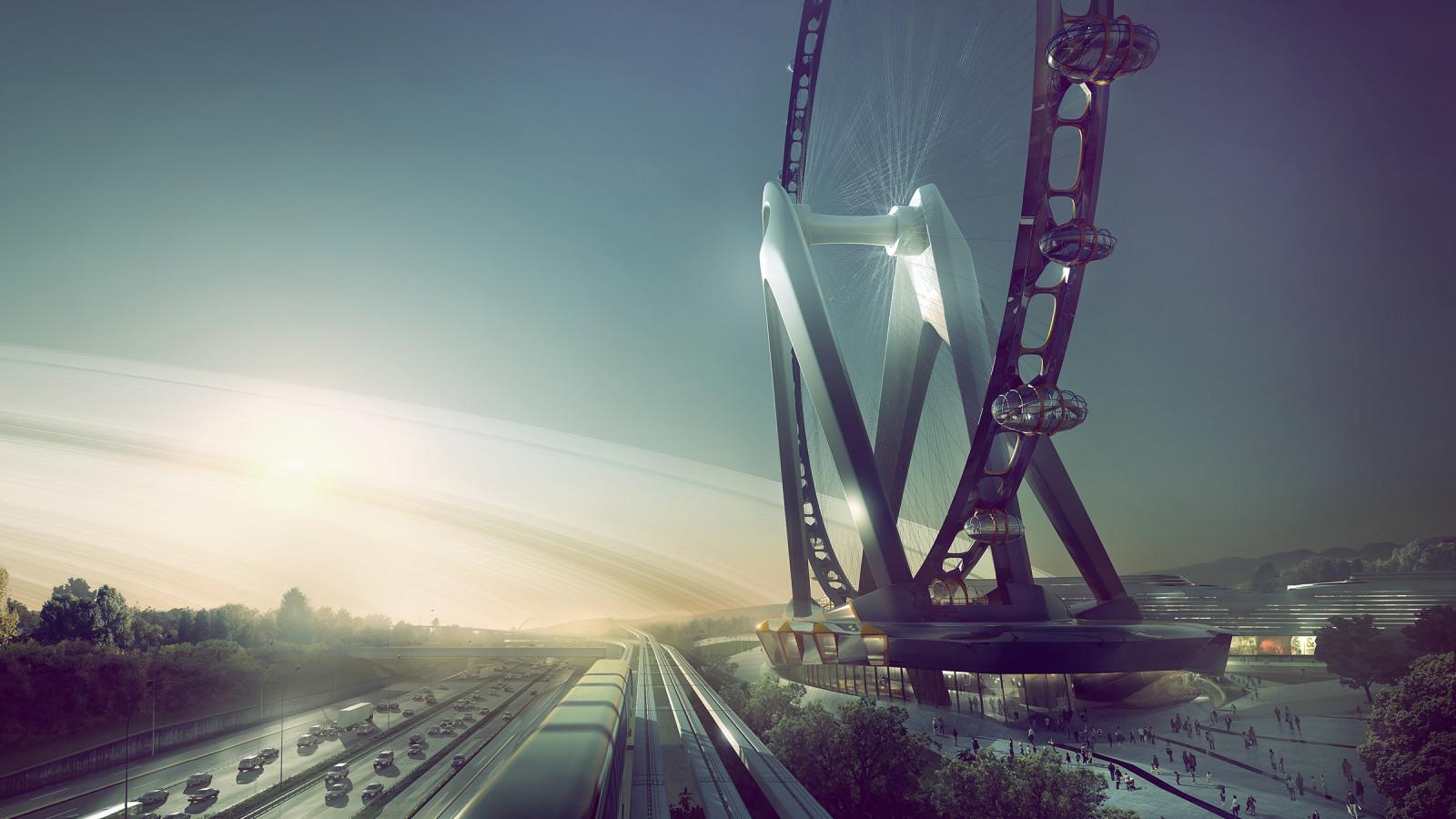 Amsterdammers bouwen grootste reuzenrad ter wereld - AT5