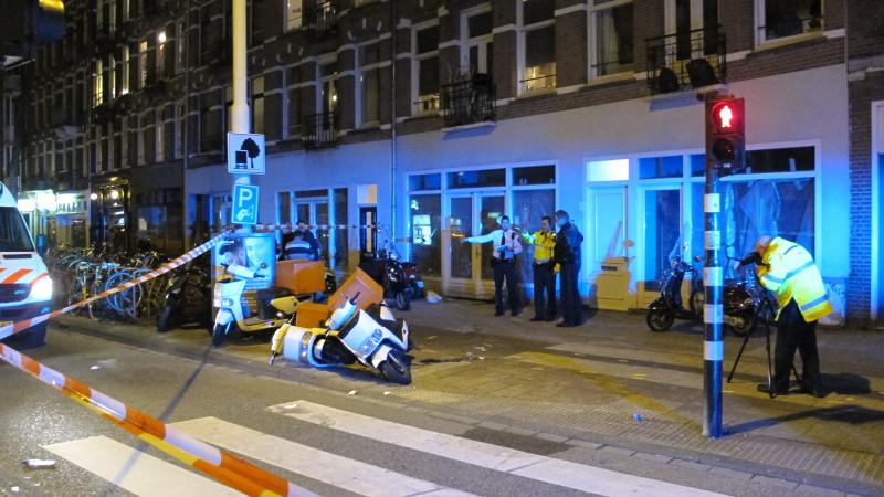 Scooterrijder zwaargewond na aanrijding