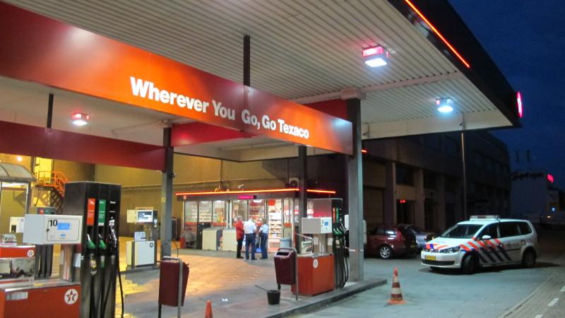 overval tankstation