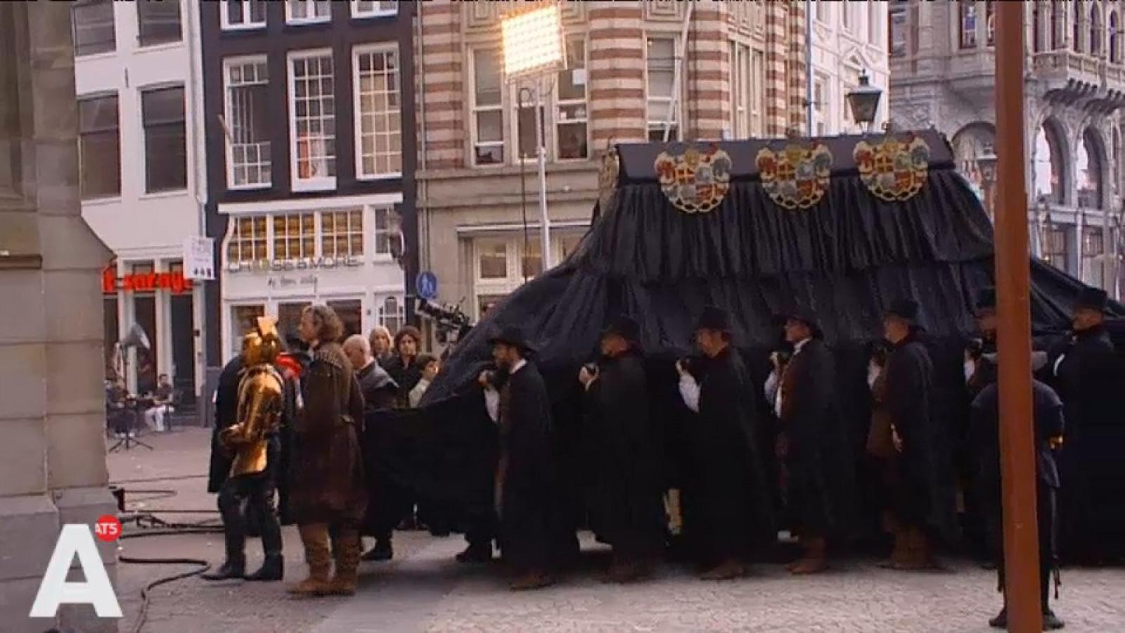 Sfeerbeelden Begrafenis Michiel De Ruyter Op De Dam At5