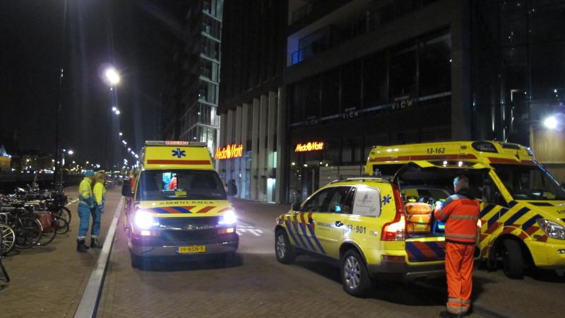 Brit zwaargewond na val van tweede etage Sea Palace