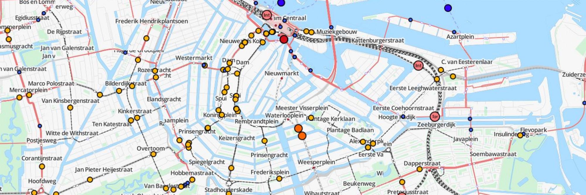 Op Deze Kaart Kun Je Elke Tram En Metro Volgen At5