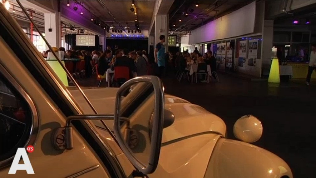 [Video] Architectuurprijzen uitgereikt in voormalige Citroën Garage