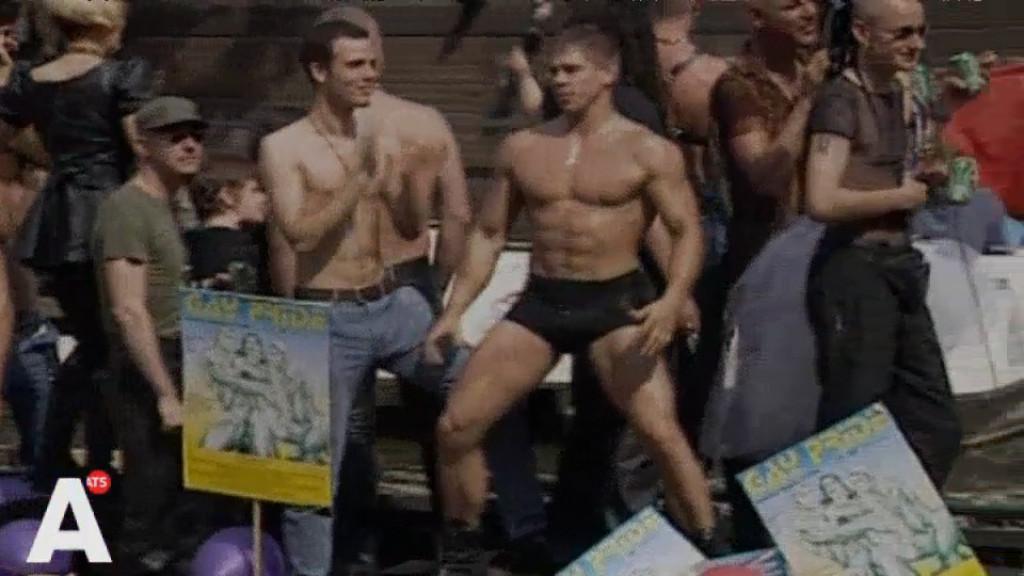 Twintig jaar Gay Pride: Beelden van de eerste Canal Parade