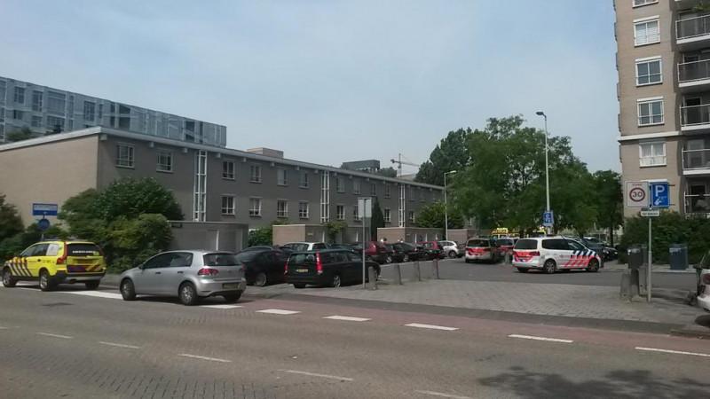 Politie schiet verdachte neer in Buitenveldert