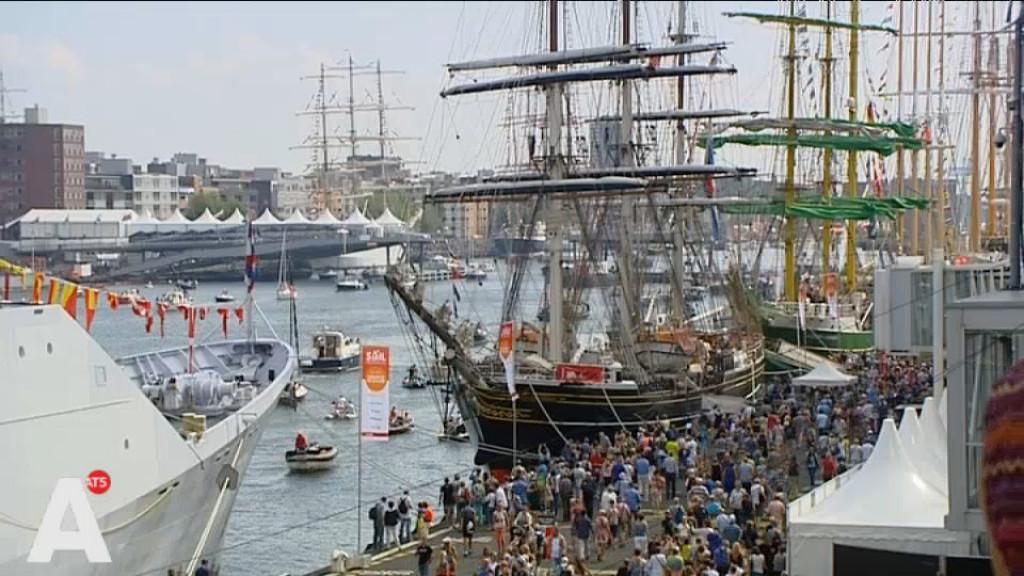 Experiment met managen van menigte bij Sail