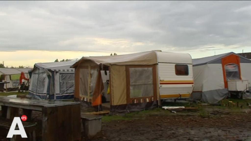 'Met een warme bloempot tussen de dijen' kamperen voor een kavel in Noord