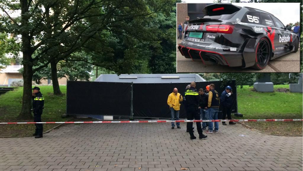 Unieke Audi RS6 uitgebrand in parkeergarage Nieuw-West