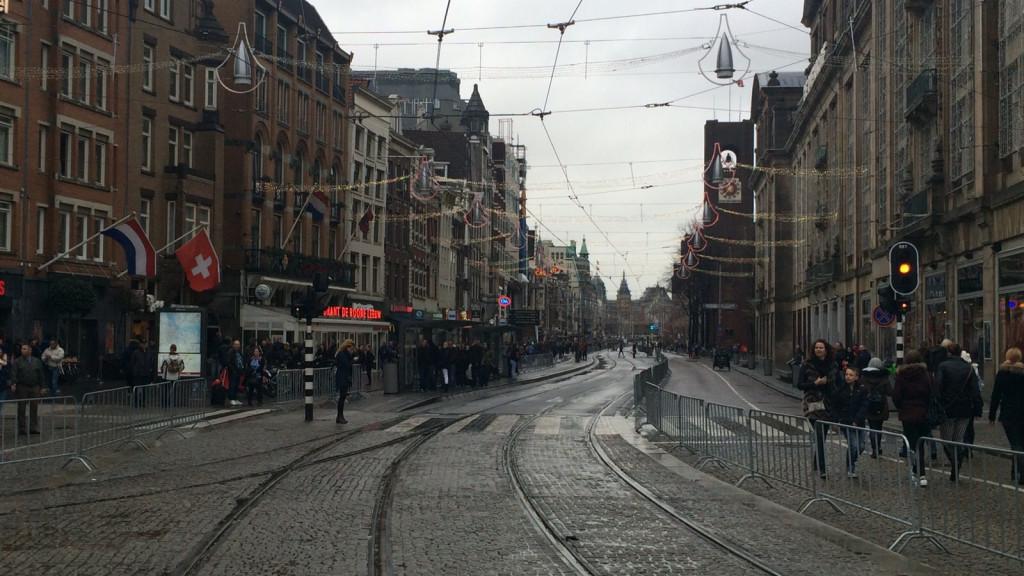 Sint aangekomen in Amsterdam