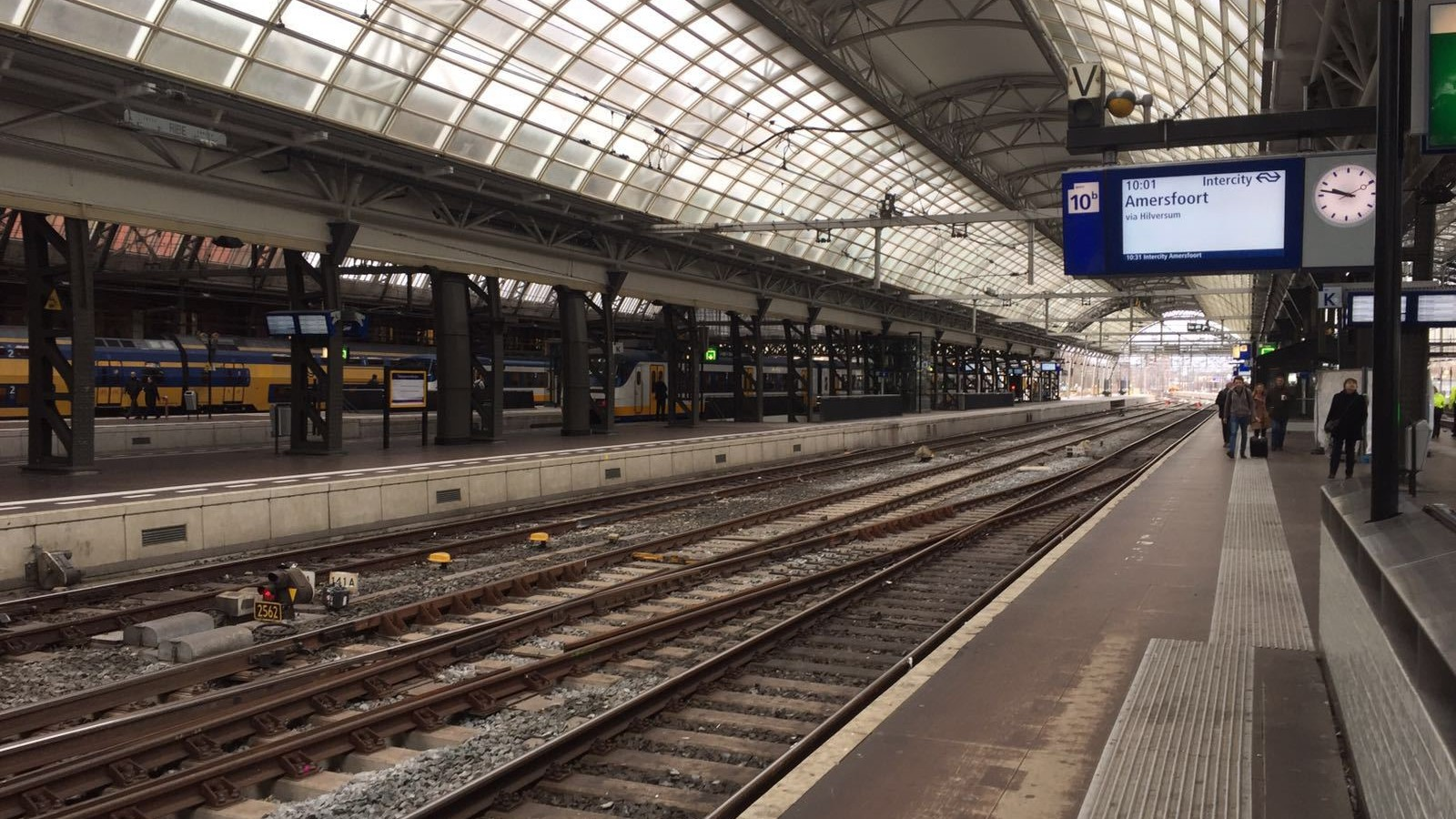 Spoor Centraal Station