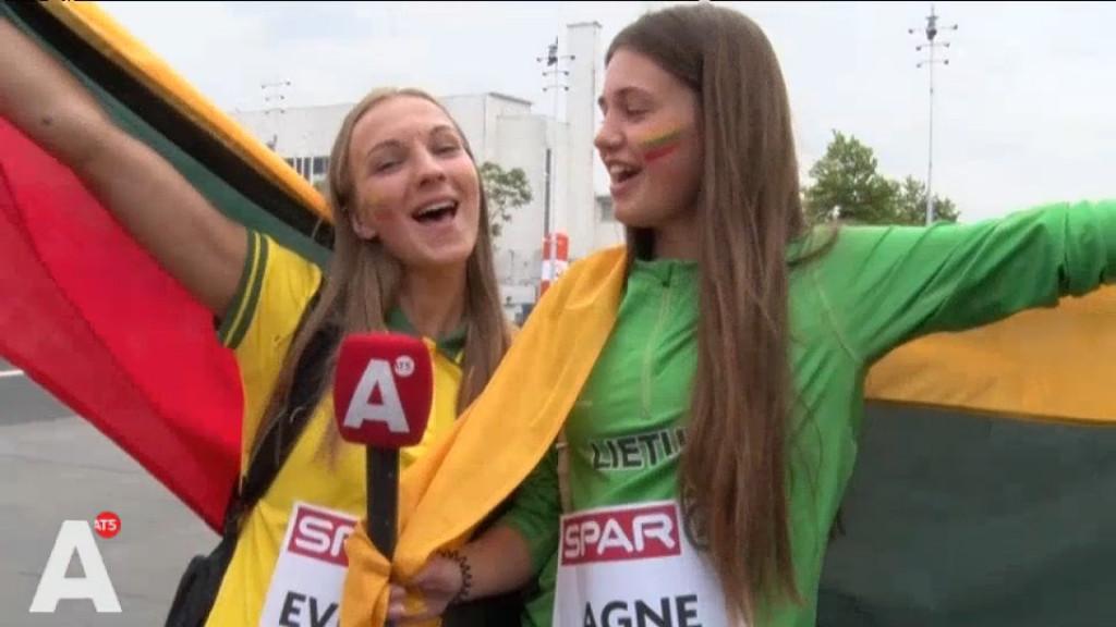 Atletiek-fans uit heel Europa in de stad, maar kunnen ze ook een beetje zingen?
