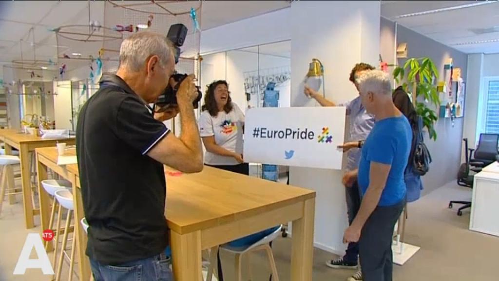 Twitter maakt speciaal Amsterdams Europride-symbool
