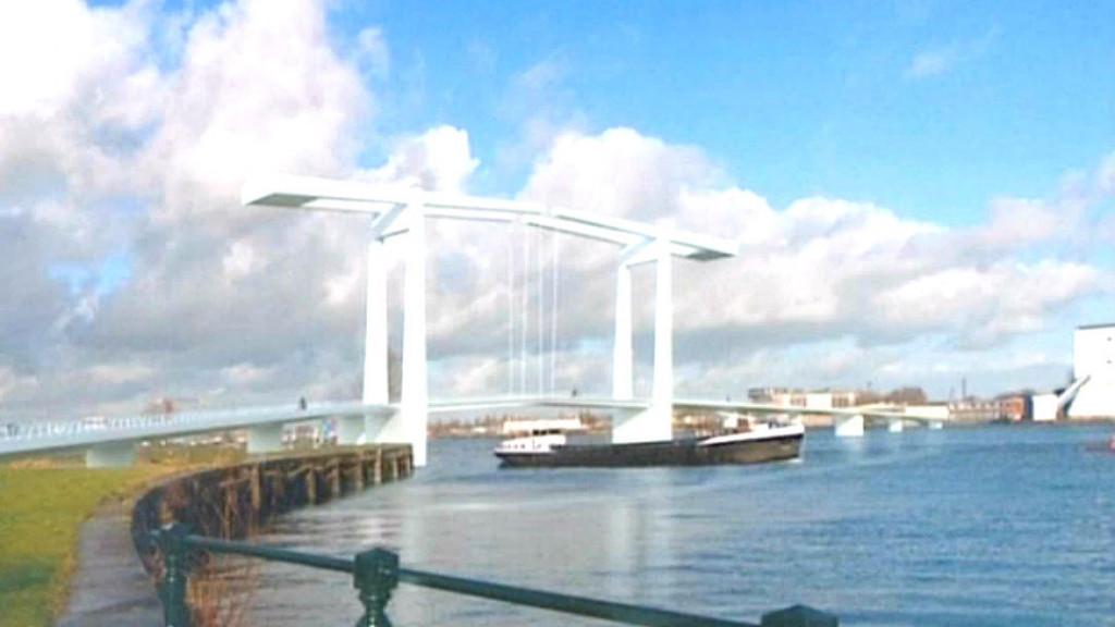 Stadsbestuur kiest voor brug bij Java-eiland en station Sixhaven