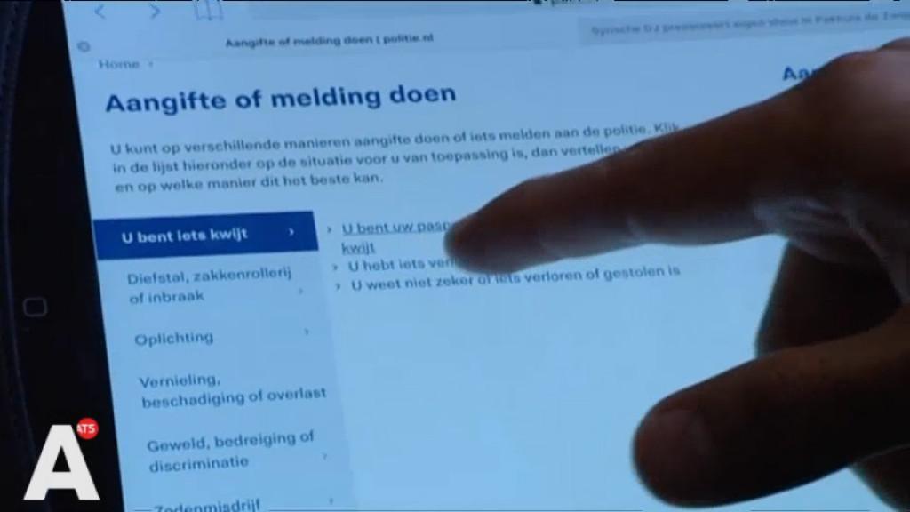 Aangifte doen te moeilijk voor toeristen: 'Formulieren alleen in Nederlands beschikbaar'