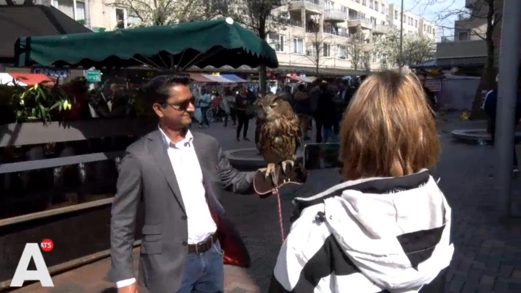 Valkenier Amsterdamse Poort vindt ophef over vogelshow overdreven: 'Opbrengst gaat naar verzorging'