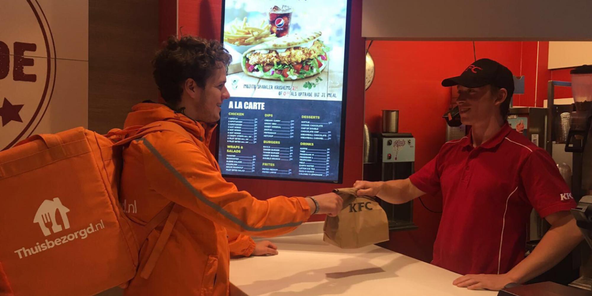 Kentucky Fried Chicken Gaat Nu Ook Bezorgen Aan De Deur At5