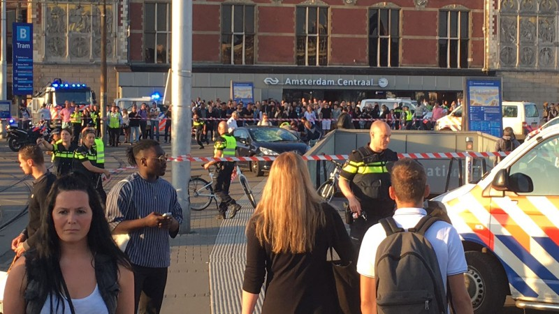 Incident Centraal Station