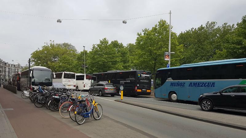 dossier kruispunt heinekenbrouwerij stadhouderskade ferdinand bolstraat drukte touringcars heineken experience