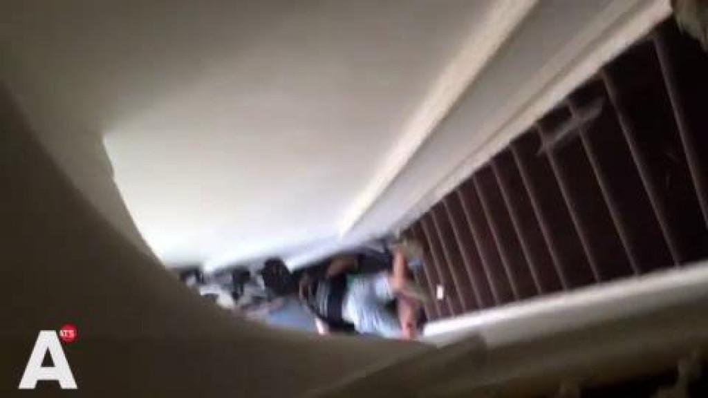 Vrouw van trap geduwd na ruzie met Airbnb-host