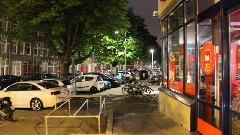 Auto explosie Van Reigersbergenstraat