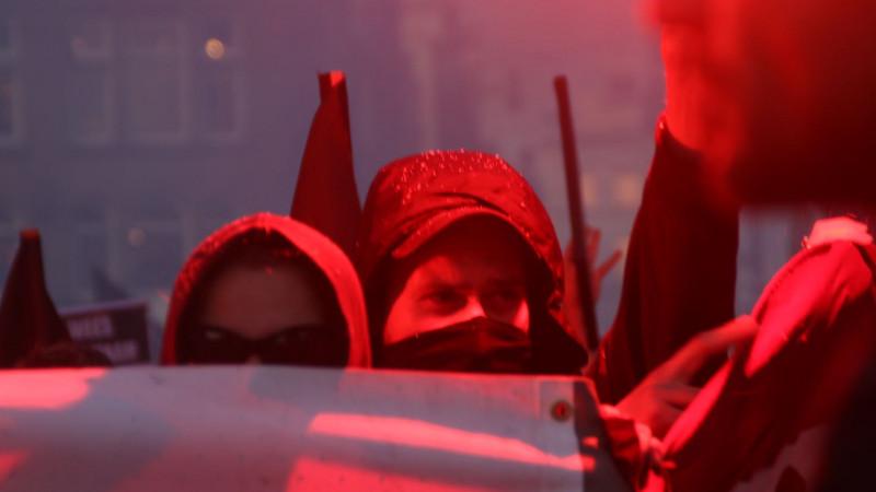 Demonstratie AFA antifa