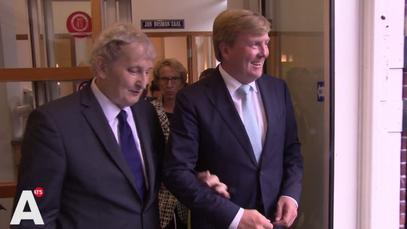 Eberhard van der Laan en Willem-Alexander Claverhuis