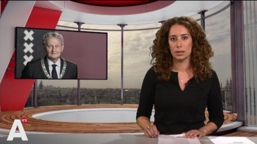AT5 Nieuws volledig in teken overlijden Van der Laan