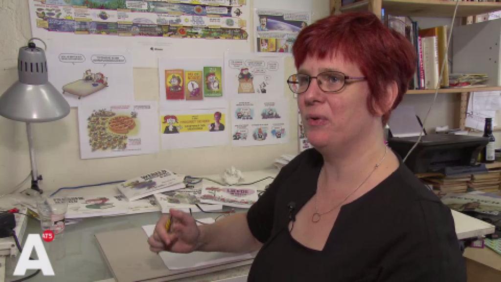 Amsterdamse Margreet eerste Stripmaker des Vaderlands: 'Ik ben erg vereerd'