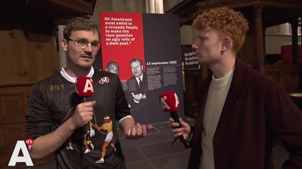 Museumnacht in de Nieuwe Kerk: 'We Have a Dream is heel actueel'