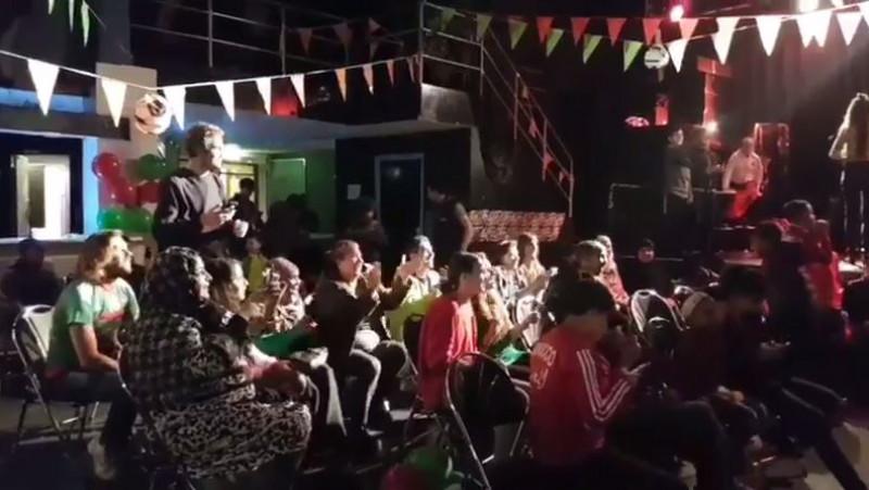 Marokkaanse Amsterdammers vieren feest na WK-kwalificatie