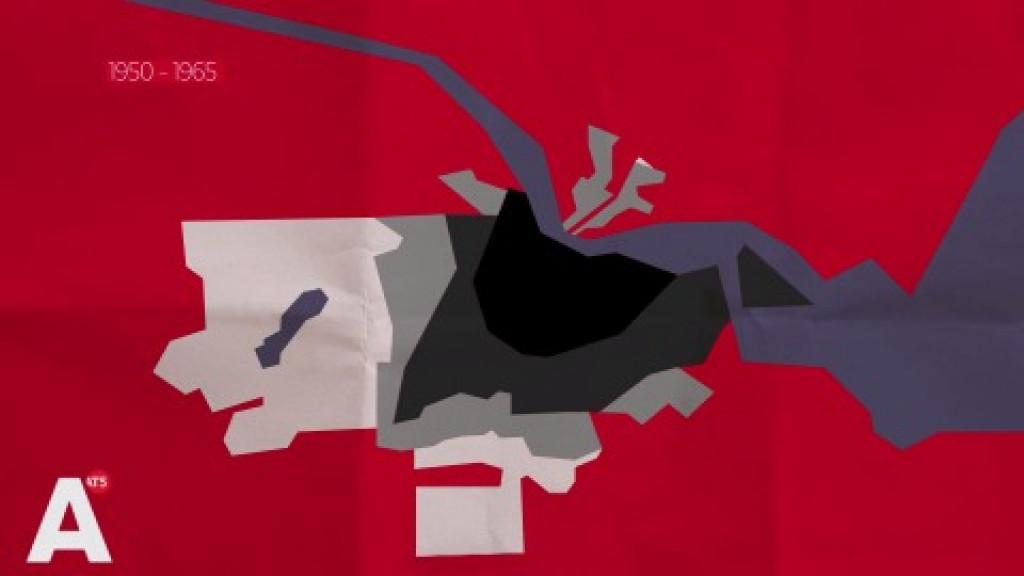 Animatie: zo groeide Amsterdam de afgelopen eeuw