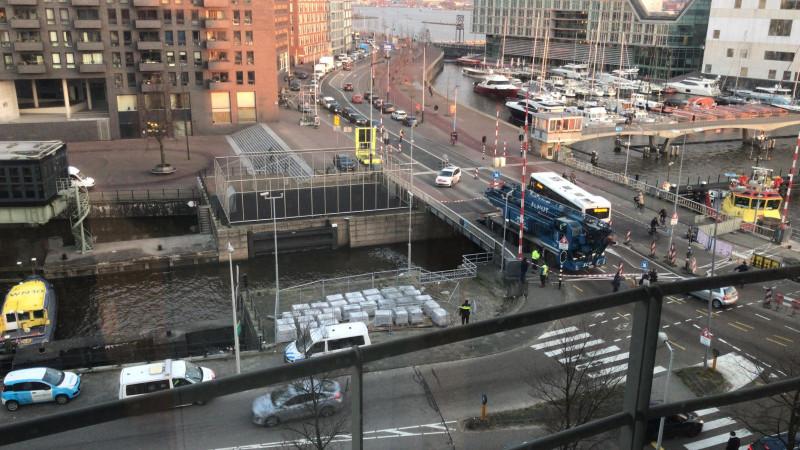 vrachtwagen brug 8-1-2018