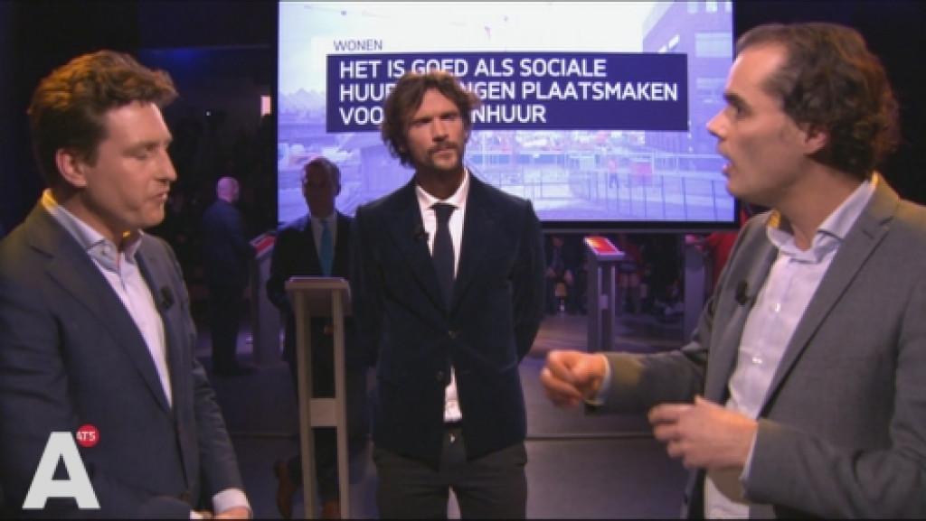 Ivens valt D66 aan op huren: 'Docent kan geen woning betalen van 1100 euro'