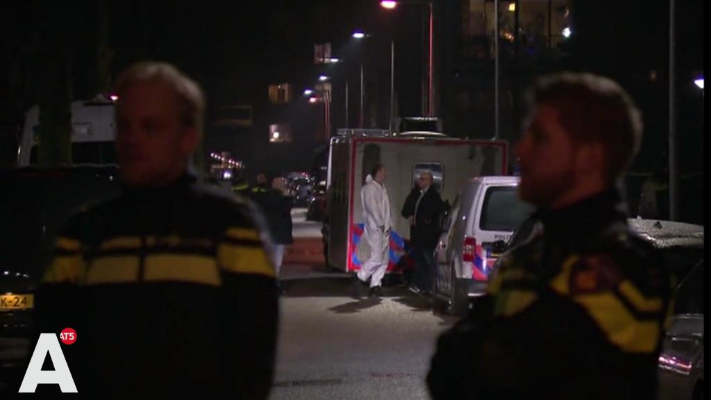 'Twee mannen met bivakmutsen op renden binnen en schoten om zich heen'