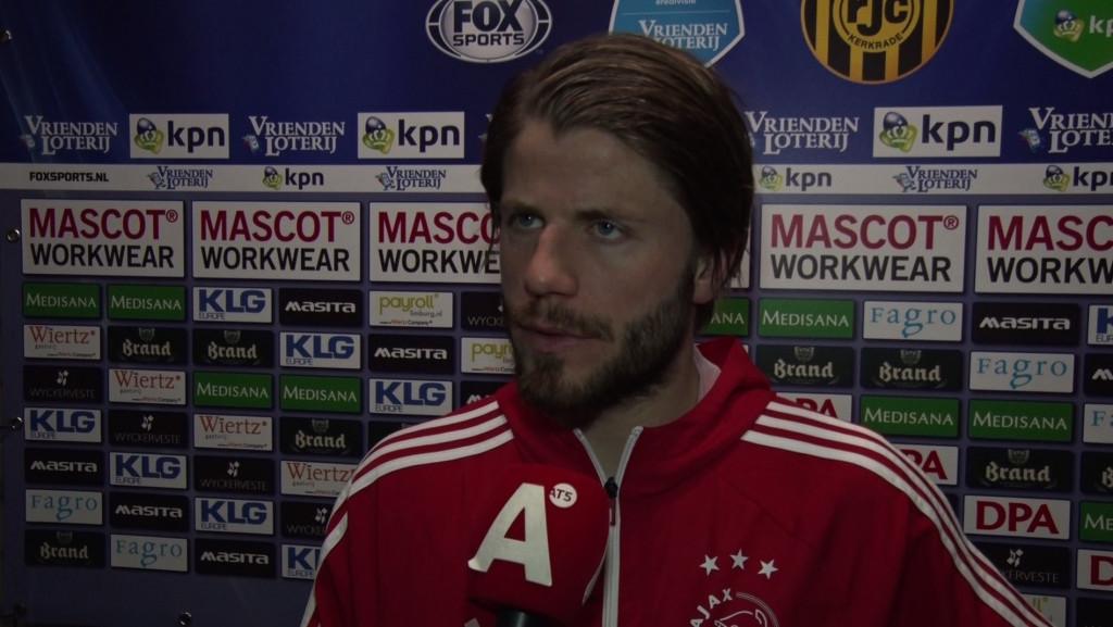 Lasse Schöne: 'Snel tegendoelpunt mag ons niet overkomen'