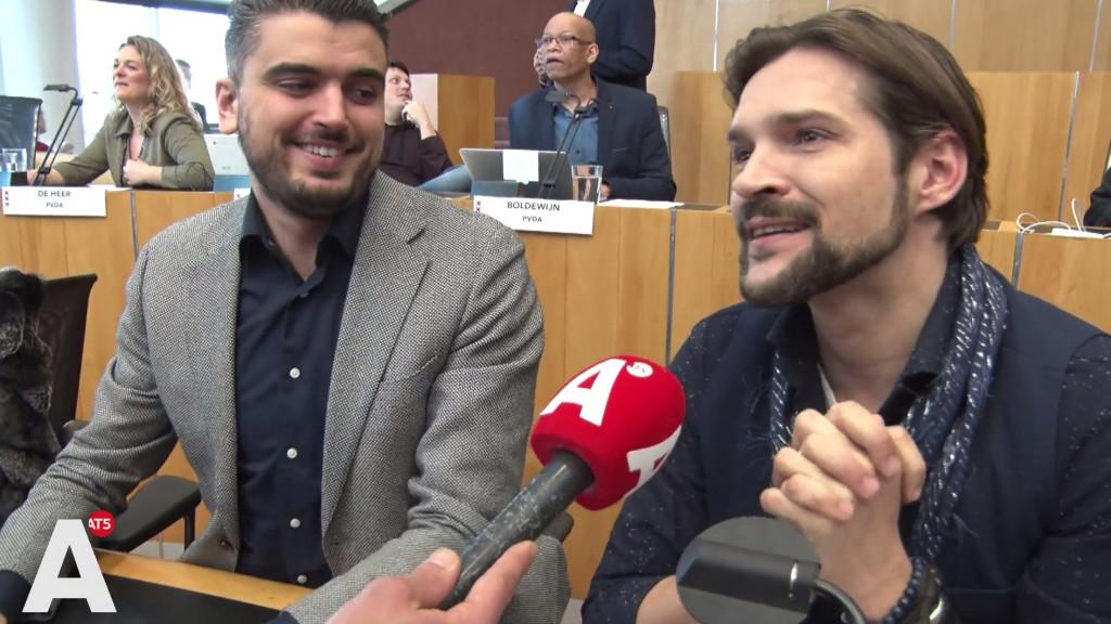 Raadsleden Mbarki en Nuijens nog één keer naast elkaar: 'Hebben meer lol dan je denkt'