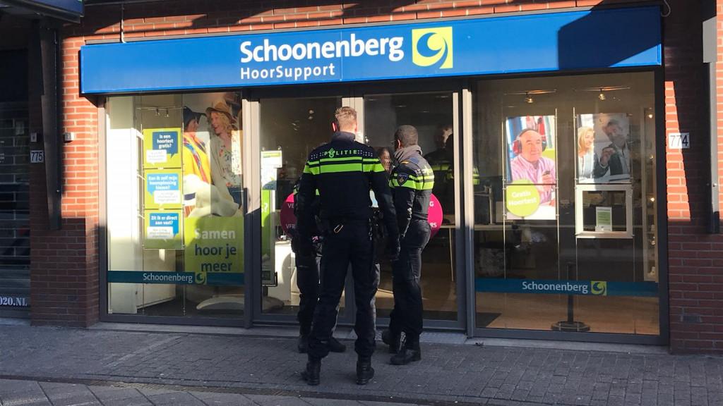 Twee mannen overvallen audicien op Osdorpplein