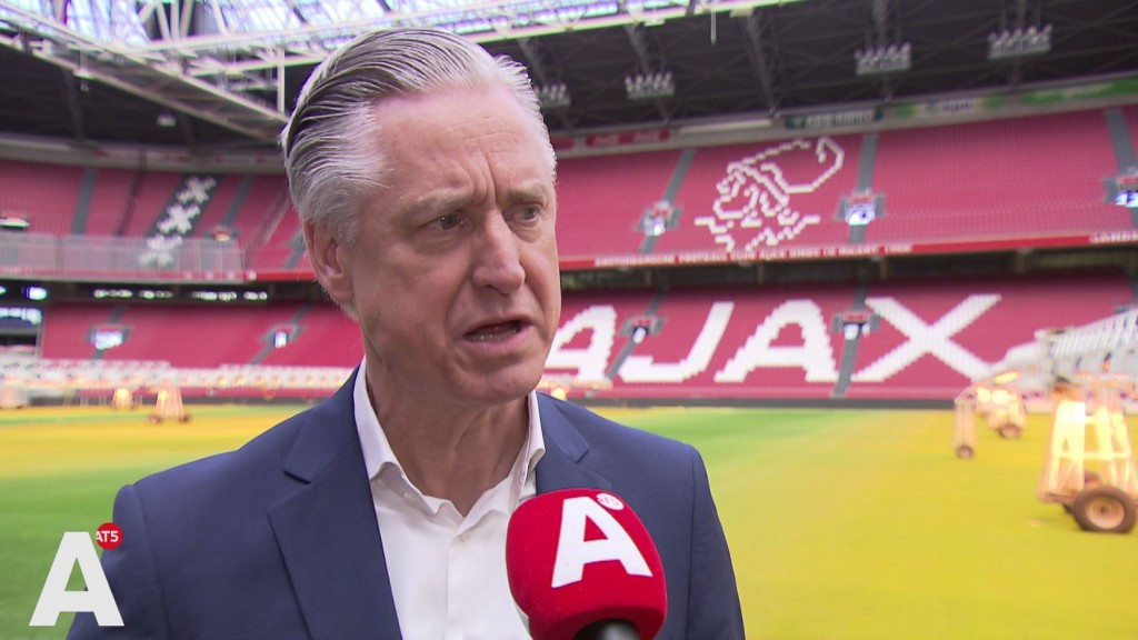Arena vanaf komend seizoen officieel Johan Cruijff Arena