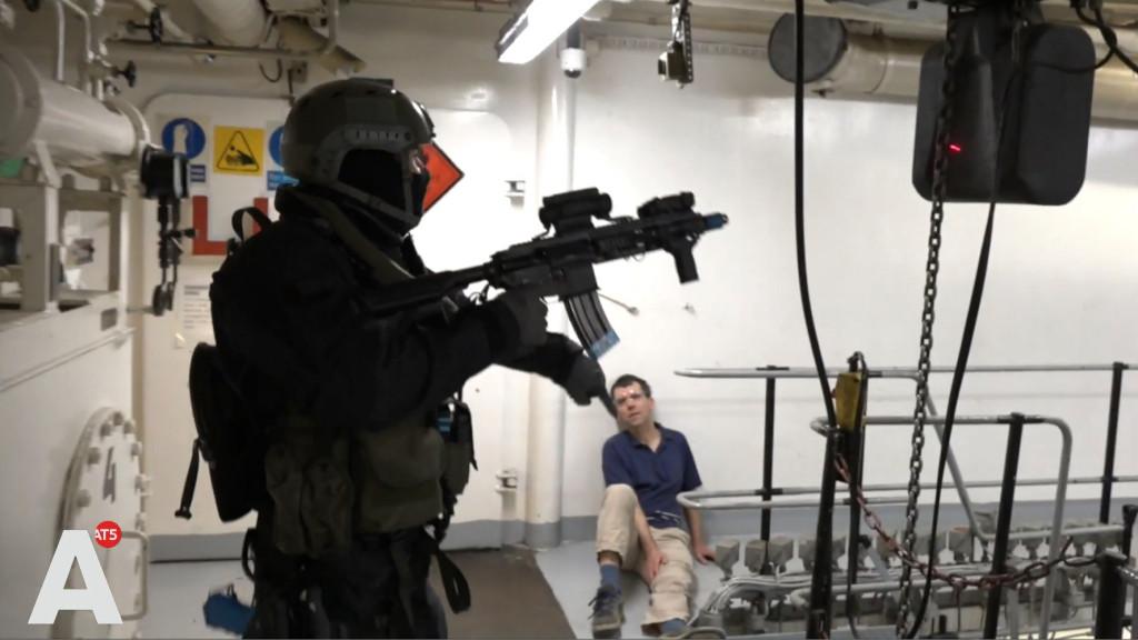 Anti-terreuroefening ten einde: 'Met gerust gevoel huiswaarts'
