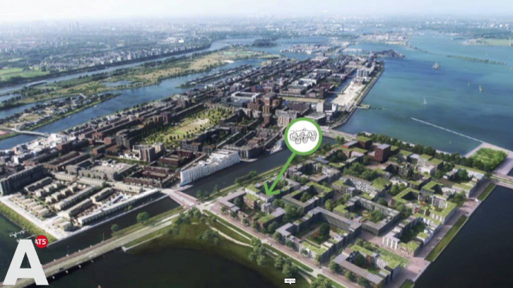 Wooncoöperatie De Warren krijgt zelfbouwkavel op IJburg