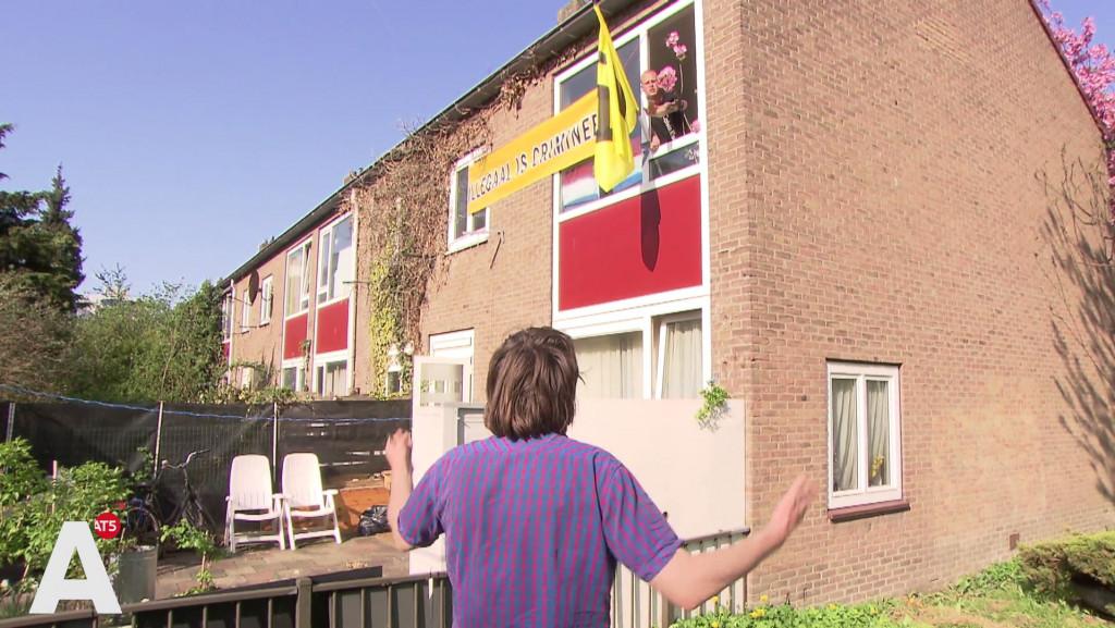 We Are Here vermoedt complot: 'Rechtse krakers kregen sleutel'