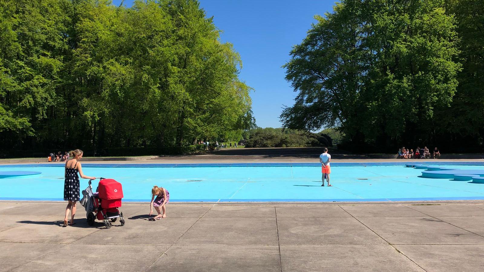 Uitzonderlijk Chagrijn bij honderden jonge ouders: geen water pierenbadje in QN88