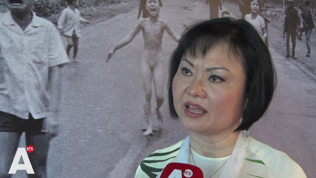 'Napalmmeisje' presenteert levensverhaal: 'Ik heb geleerd van mijn vijanden te houden'